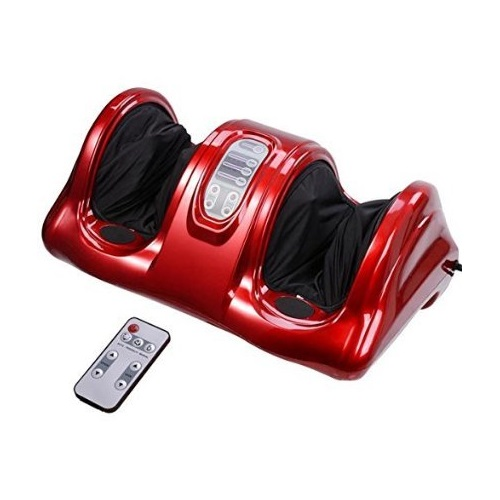 Unitech Electric Foot Massager, Remote Control, Red