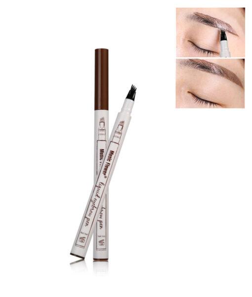 Waterproof Fork Tip Eyebrow Tattoo Pen, Waterproof Fork Tip Eyebrow Tattoo Pen