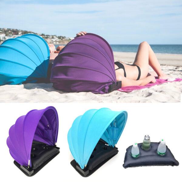 2018-Newest-Portable-Face-Shade-Personal-Outdoor-Sun-Beach-Shader-Protection-tent-Summer-Mini-Beach-Umbrella