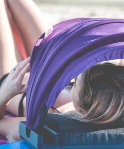 , Portable Personal Face Shader Umbrella