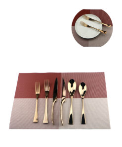 6Pcs-Lot-Rose-Gold-Cutlery-Set-18-10-Stainless-Steel-Dinnerware-Set-Knife-Scoops-Silverware-Set (4)