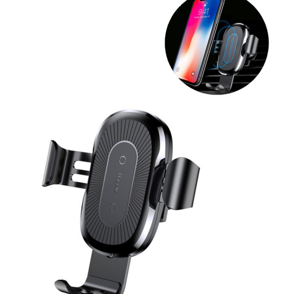 Baseus-Car-Mount-Qi-Wireless-Charger-For-iPhone-X-8-Plus-Quick-Charge-Fast-Wireless-Charging