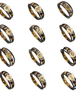 Fashionable-Bronze-Alloy-Buckles-Zodiac-Signs-Bracelet-Punk-Leather-Bracelet-Wooden-Bead-Black-Hematite-Lover-Charm-1.jpg