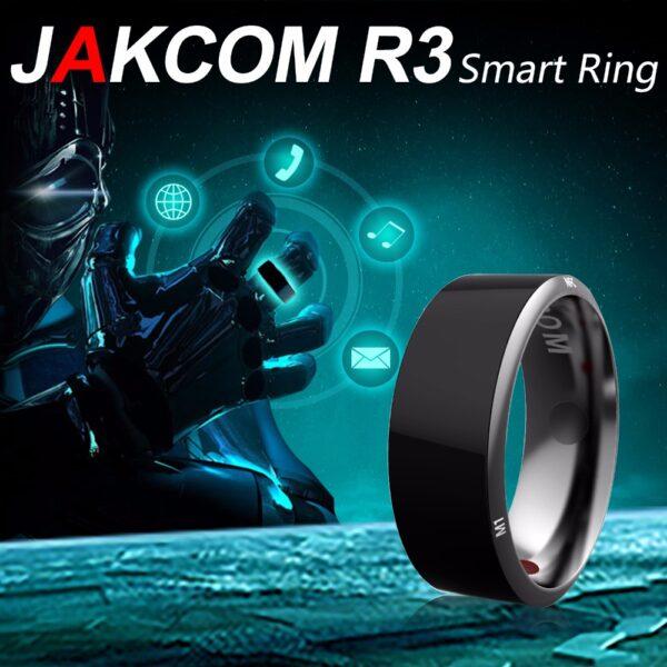 Jakcom Smart Ring Wear Convenient R3 R3F Timer2 MJ02 Black Color Magic Finger NFC Ring For 2