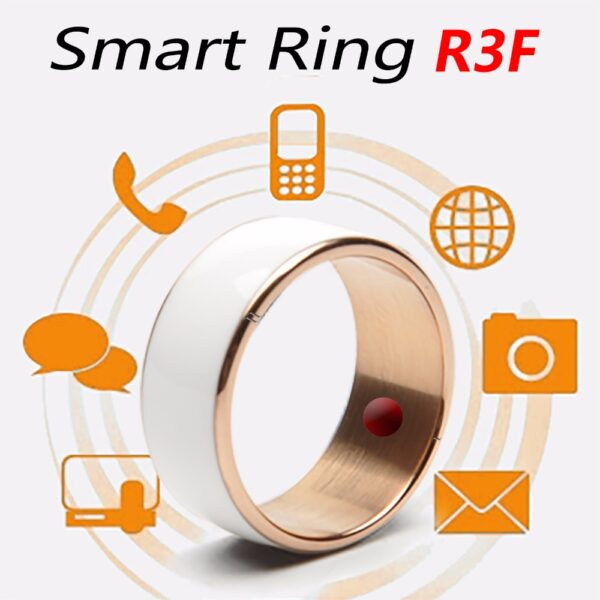 Jakcom Smart Ring Wear Convenient R3 R3F Timer2 MJ02 Black Color Magic Finger NFC Ring For 3