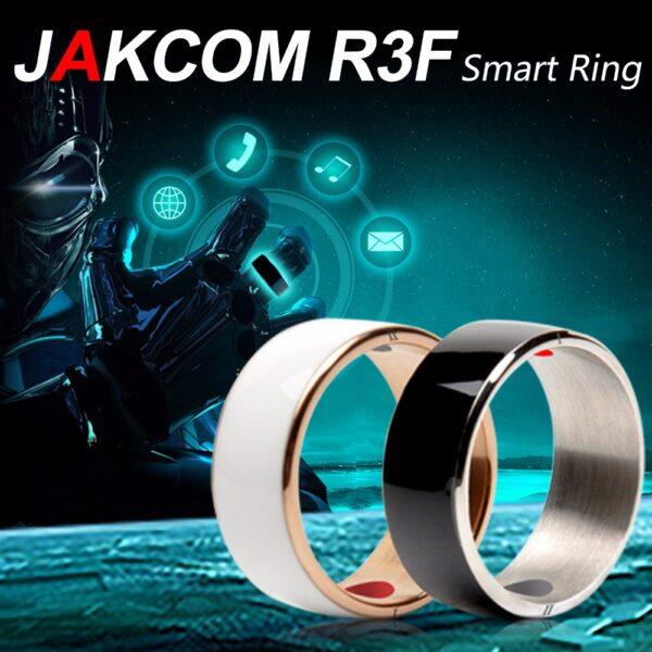 Jakcom Smart Ring Wear Convenient R3 R3F Timer2 MJ02 Black Color Magic Finger NFC Ring For 4