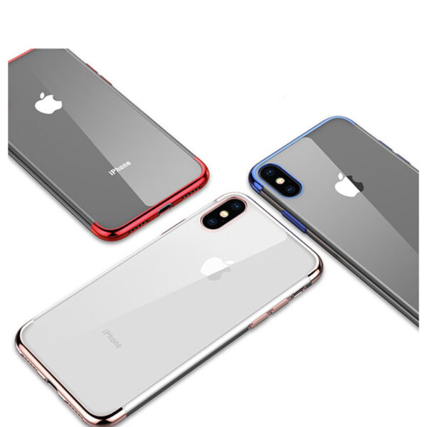 Luxury-plating-Case-For-iPhone-6-6s-7-8-X-Case-Transparent-Silicon-Case-For-iPhone (1)