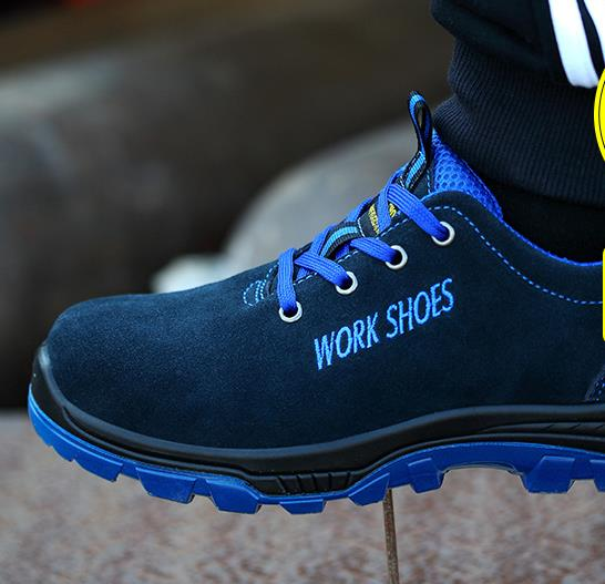 Men Work Safety Shoes Steel Toe Warm Breathable Men s Casual Boots Puncture Proof Labor Insurance 2