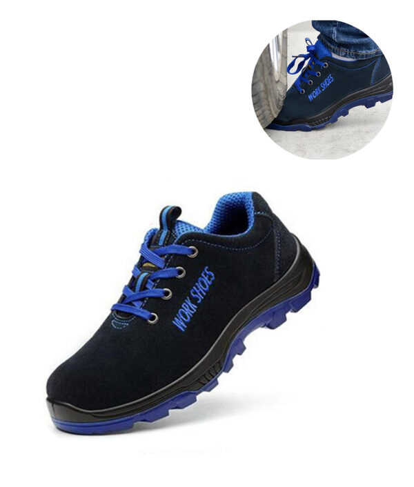Men Work Safety Shoes Steel Toe Warm Breathable Men s Casual Boots Puncture Proof Labor Insurance 3 1