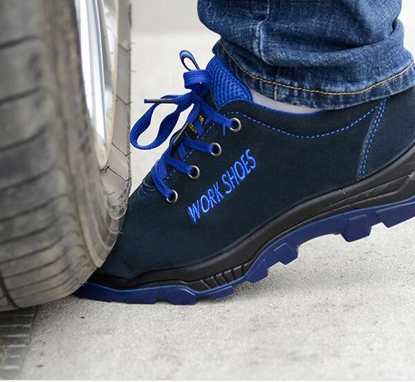 Men Work Safety Shoes Steel Toe Warm Breathable Men s Casual Boots Puncture Proof Labor Insurance 3