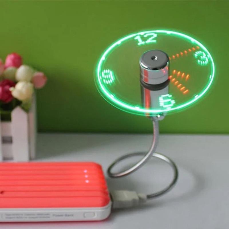 USB Clock Fan