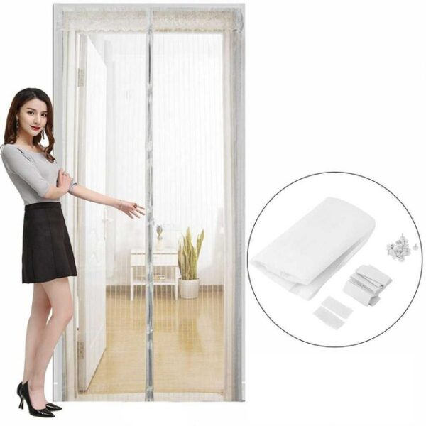 OUTAD Summer Anti Mosquito Insect Fly Bug Curtains Magnetic Mesh Net Automatic Closing Door Screen Kitchen.jpg 640x640 1