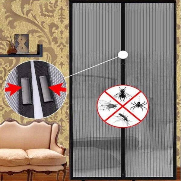 OUTAD Summer Anti Mosquito Insect Fly Bug Curtains Magnetic Mesh Net Automatic Closing Door Screen
