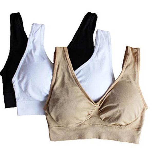 3pcs set sexy genie bra With Pads Seamless push up bra plus size XXXL underwear wireless.jpg 640x640 Copy