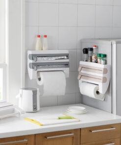 multi kitchen tool, Multi-function 4-in-1 Kitchen Towel Dispenser