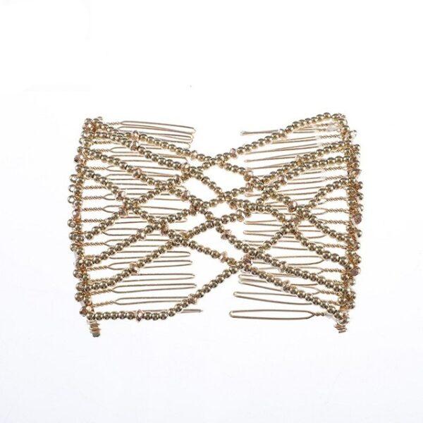 MISM Woman Elastic Magic DIY Toll Vintage Headband Fashion Hair Maker Bun Hair Combs Metal Hairpins 2.jpg 640x640 2