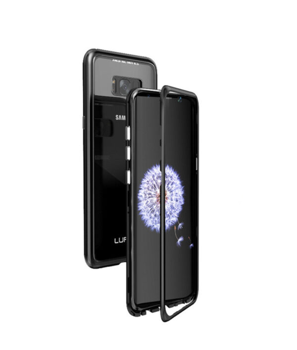 Metal Magnetic Adsorption case for samsung galaxy S8 case S8 Plus Cover S8 coque Luxury Bumper 2.jpg 640x640 2