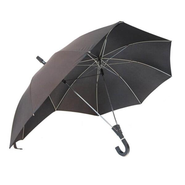 SAFEBET Brand Creative Couples Large area Double Open Umbrella Organizer Double Open Pole against Wind Sunny 1