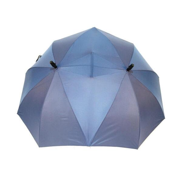 SAFEBET Brand Creative Couples Large area Double Open Umbrella Organizer Double Open Pole against Wind Sunny 3