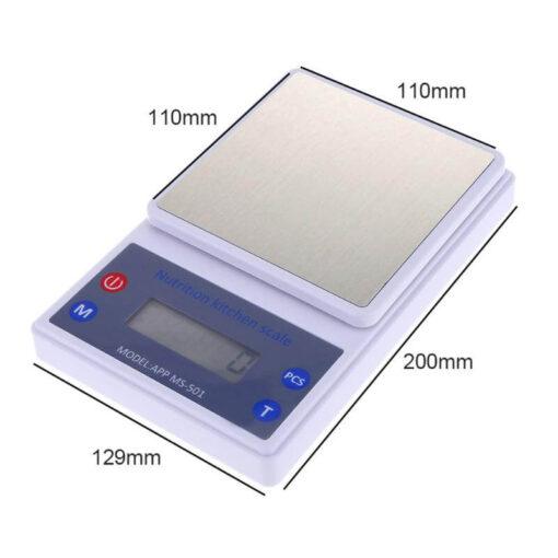 wireless kitchen scale, Wireless Kitchen Scale with Nutritional Data