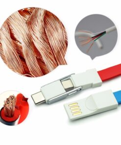 cable keychain, 3-in-1 Keychain Cable