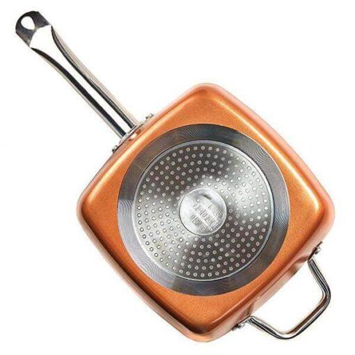 copper pan set, Copper Pan Set (4pcs)