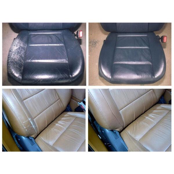 Liquid Skin Leather Auto Car Seat Sofa Coats Holes Scratch Cracks Rips No Heat Liquid Leather 5