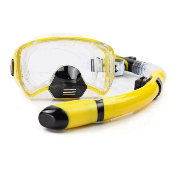 New Diving masks Men Professional Swim snorkel tube adult scuba diving Fins monofin long Snorkeling Swimming 1
