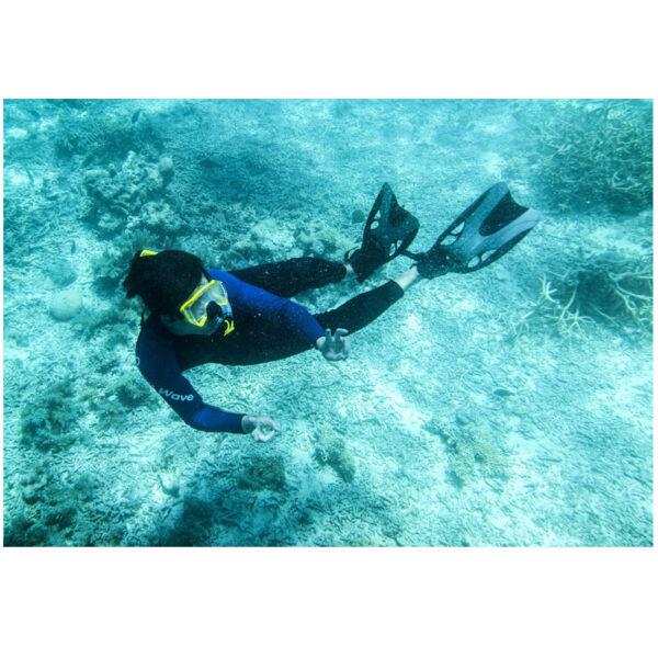 New Diving masks Men Professional Swim snorkel tube adult scuba diving Fins monofin long Snorkeling Swimming 5