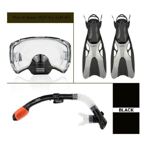 New Diving masks Men Professional Swim snorkel tube adult scuba diving Fins monofin long Snorkeling Swimming 5.jpg 640x640 5