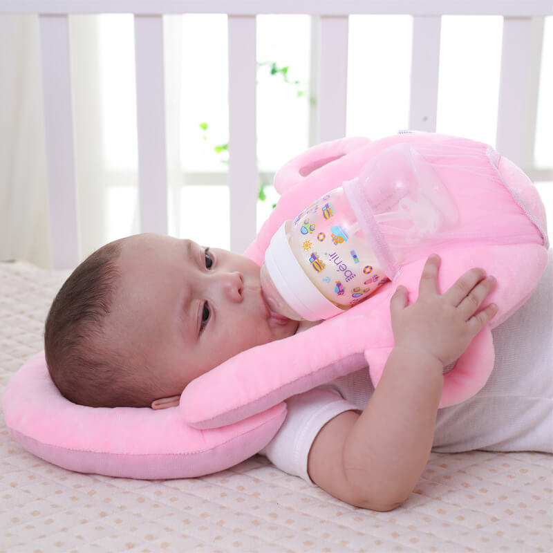 Baby Self Feeding Pillow Washable Cover Adjustable Model