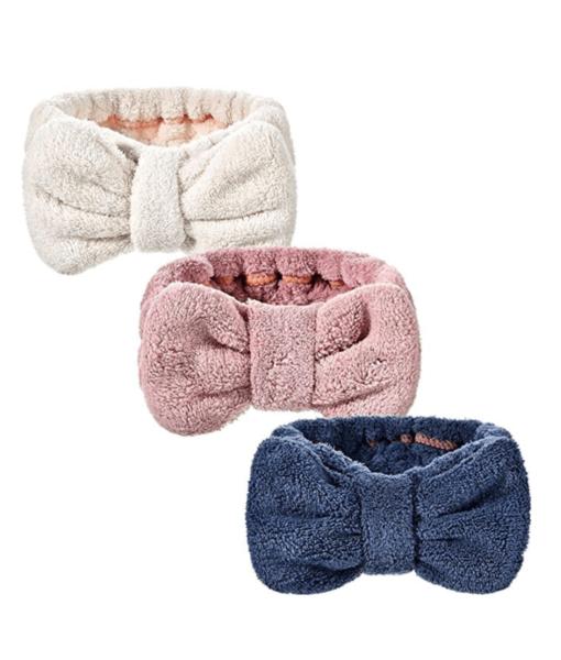 bowknot headbands for women, Makeup Headbands Bowknot (3pcs)