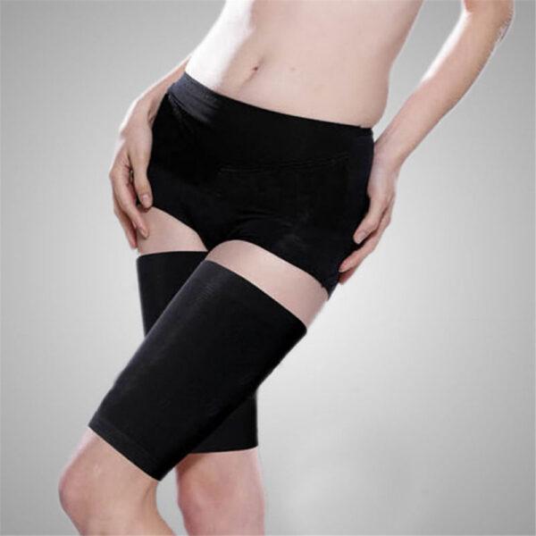 Slimming Leg Belt Wrap Thigh Calf Lose Weight Body Shape Up Slim Belt Bodyshaper Stretch