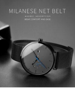 Lovain Watch, Lovain Watch with Blue Pointer