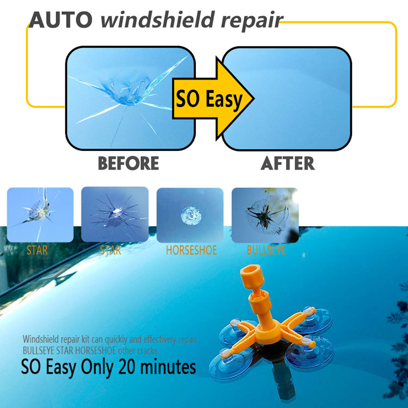Windshield Glass Repair Kit >> Diy Windshield Crack Repair Kit Windshield Crack Repair Kit