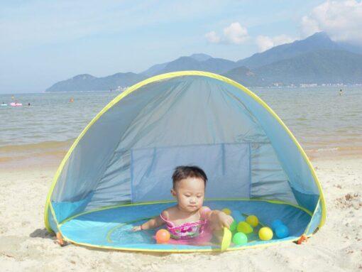 baby beach shade pool, Baby Beach Shaded Pool