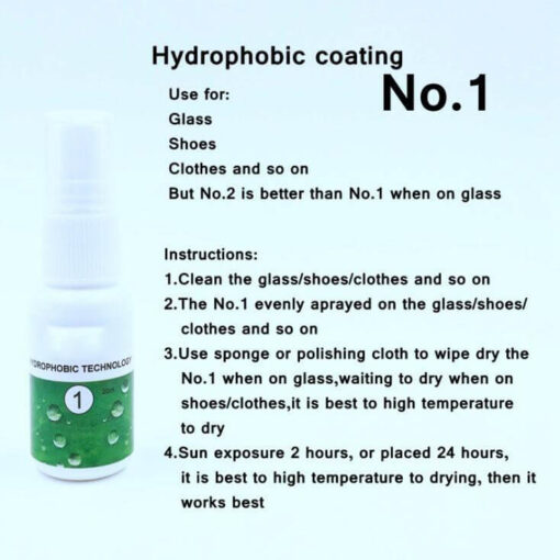 nano coating spray, Multifunctional Nano Coating Spray