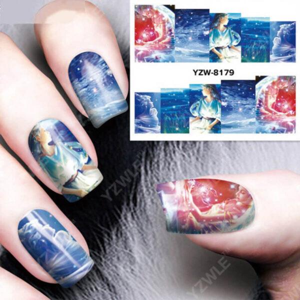 1pc Nail Sticker Water Transfer Decals Galaxy Starry Sky Watermark Slider Gel Nail Art Decoration Manicure 8 1.jpg 640x640 8 1