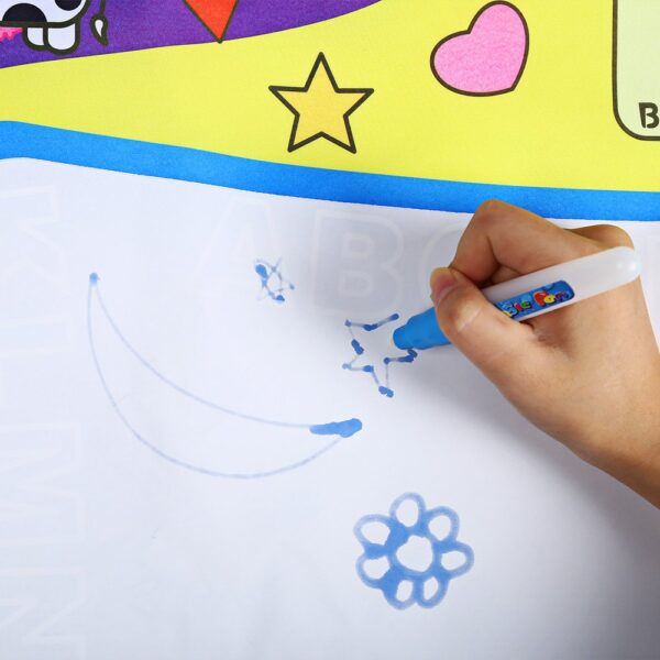 80 x 60cm Baby Kids Add Water with Magic Pen Doodle Painting Picture Water Drawing Play 3