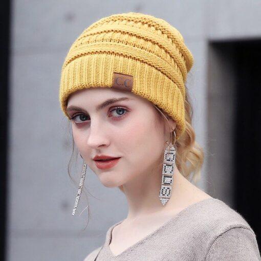 soft knit ponytail beanie, Soft Knit Ponytail Beanie