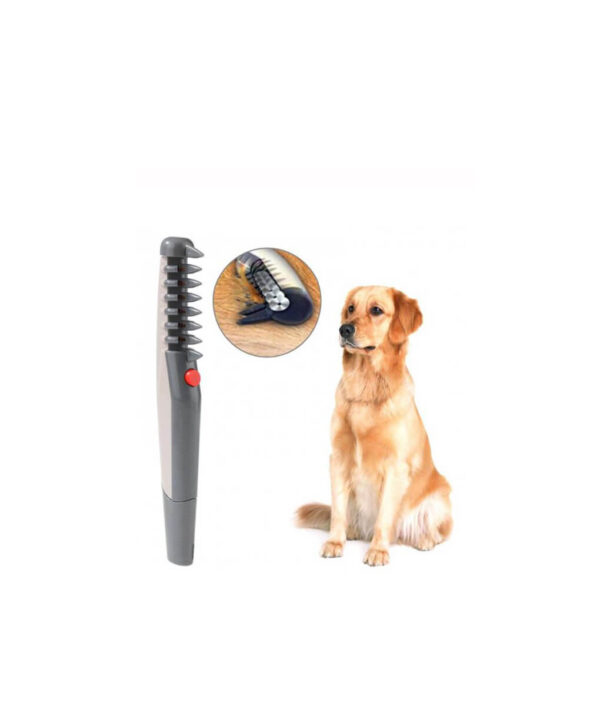 Electric Pet Dog Grooming Comb Dog Brush Pet Hair Removal Brush Dog Cat Hair Fur Trimmer 1 510x510 1
