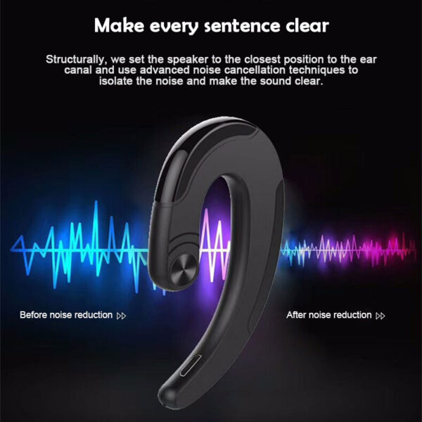 HBQ Q25 Cordless Headphones Wireless Bluetooth Earphones Waterproof Bluetooth Earbuds Sports Headset Not Bone Conduct Earphone 11