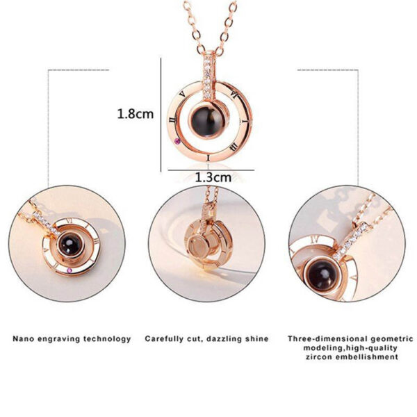 Subloom 100 I Love You Necklace Free Shipping Dropshipping 5
