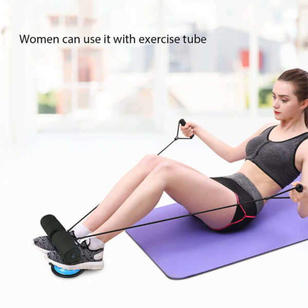 TOMSHOO Self Suction Sit Up Bars Abdominal Core Workout Strength Training Situp Assist Bar Stand Fitness 2 1