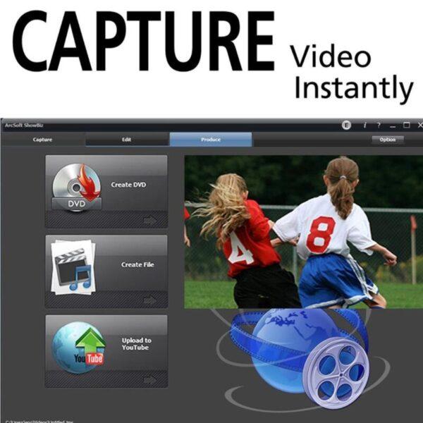 USB 2 0 Video Audio Capture Card Converter PC Adapter VHS to DVD Converter Digital Video 1