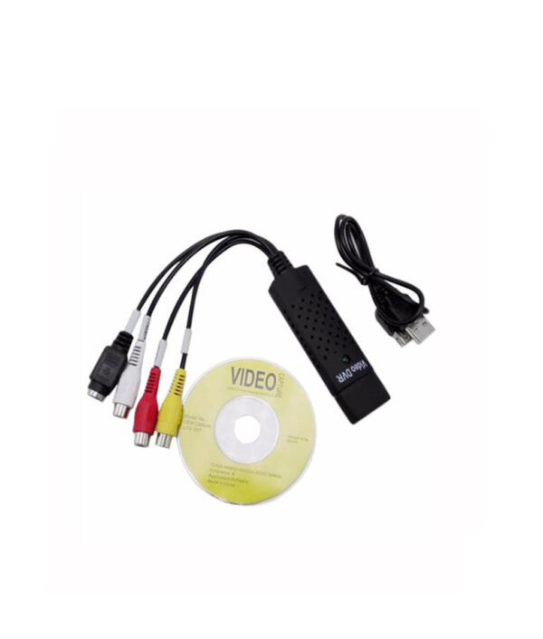 USB 2 0 Video Audio Capture Card Converter PC Adapter VHS to DVD Converter Digital Video 2 2
