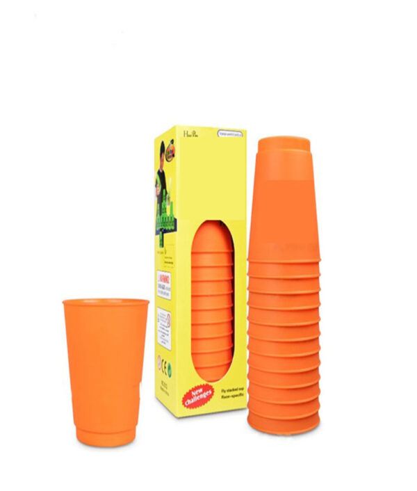 12Pcs Set Speed Cups Game Rapid Game Sport Flying Stacking Holloween Christmas Gift Hand Speed Training 4 1 1