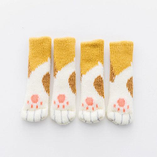 chair socks, Cat Paw Chair Socks