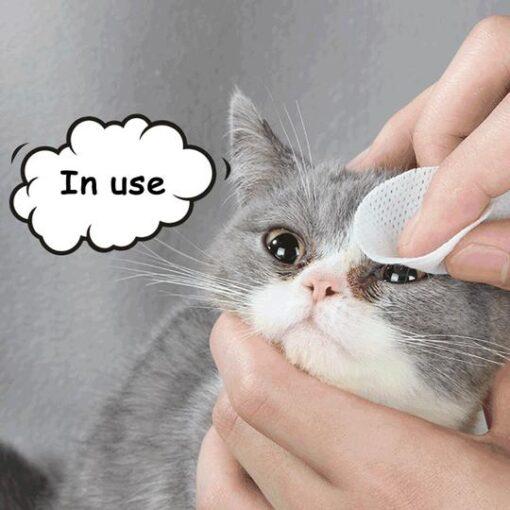 Pet Eye Grooming Wipes, Pet Eye Grooming Wipes