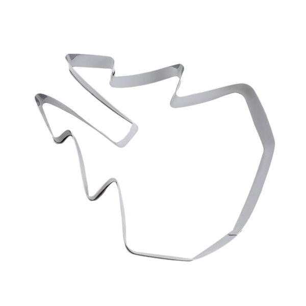 8pcs set Stainless Steel 3D Christmas Cookie Cutters Cake Cookie Mold Fondant Cutter DIY Baking Tools 3